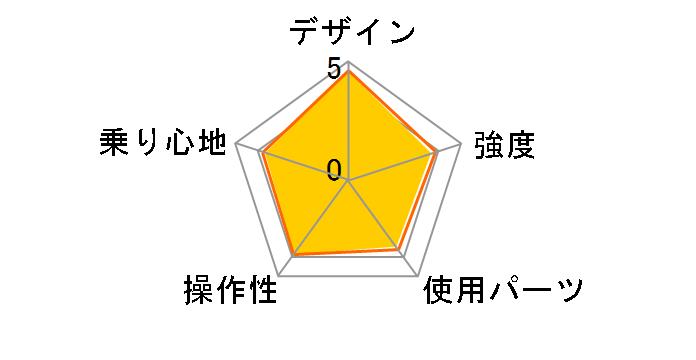 DOPPELGANGER 202 blackmax 7段変速モデル [ジェットブラック/フラッシュオレンジ]のユーザーレビュー