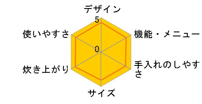 炊きたて JKP-B180-TU [マルーンブラウン]のユーザーレビュー
