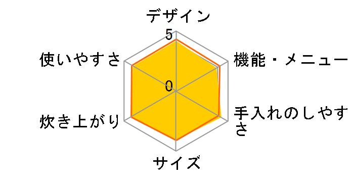 炊きたて JPB-G100-RL [ラスターレッド]のユーザーレビュー