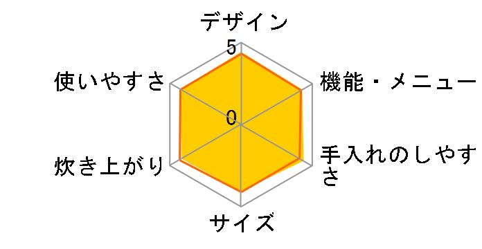 炊きたて JPB-G101-DA [アーバンオレンジ]のユーザーレビュー
