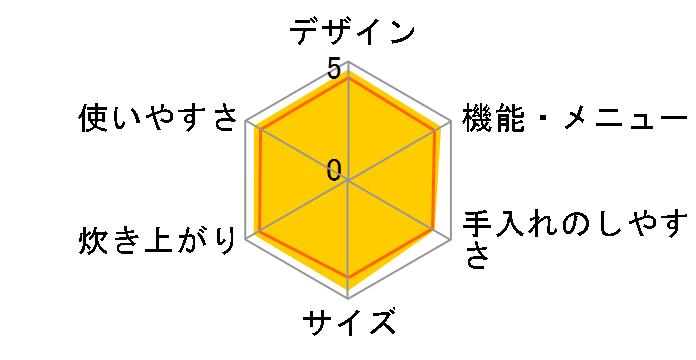 炊きたて JPF-A550-W [サテンホワイト]のユーザーレビュー
