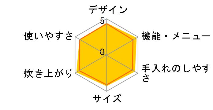 本炭釜 KAMADO NJ-AW109-B [黒銀蒔]のユーザーレビュー