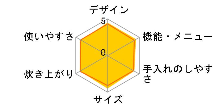 炊きたて JPC-G100-WA [エアリーホワイト]のユーザーレビュー