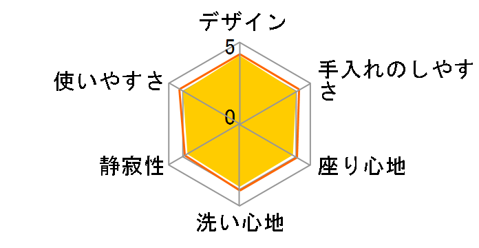 ビューティ・トワレ DL-ENX20-CP [パステルアイボリー]のユーザーレビュー